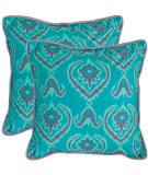 RugStudio presents Safavieh Pillows Alpine Blue