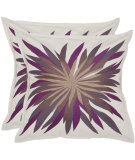 RugStudio presents Safavieh Pillows Autumn Burst Multi Purples