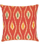 RugStudio presents Safavieh Pillows Taylor Red/Ivory