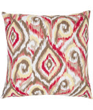 RugStudio presents Safavieh Pillows Joyce Brown/White