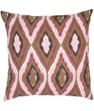 RugStudio presents Safavieh Pillows Tristan Brown/Pink