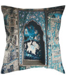 RugStudio presents Safavieh Pillows Adari Turquoise / Grey