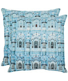 RugStudio presents Safavieh Pillows Verona Turquoise