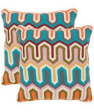 RugStudio presents Safavieh Pillows Stenciled Arrow Multi