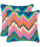 RugStudio presents Safavieh Pillows Dripping Stiches Neon