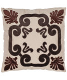 RugStudio presents Safavieh Pillows Weston Chocolate Brown