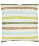 RugStudio presents Safavieh Pillows Leslie Cream/ Blue / Green
