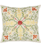 RugStudio presents Safavieh Pillows Dean White / Multi