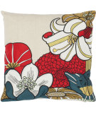 RugStudio presents Safavieh Pillows Jett Red / Beige