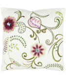 RugStudio presents Safavieh Pillows Esmeralda Rose / Cream
