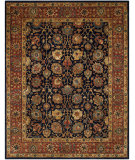 RugStudio presents Safavieh Persian Legend Pl537b Navy / Rust Hand-Tufted, Good Quality Area Rug