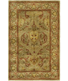 RugStudio presents Safavieh Persian Legend Pl819g Moss / Beige Hand-Tufted, Good Quality Area Rug