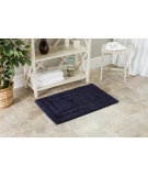 RugStudio presents Safavieh Plush Master Bath PMB627B Navy / Navy Area Rug