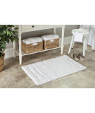 RugStudio presents Safavieh Plush Master Bath PMB627W White / White Area Rug