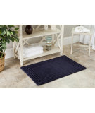 RugStudio presents Safavieh Plush Master Bath PMB631B Navy / Navy Area Rug