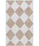 RugStudio presents Safavieh Plush Master Bath PMB639C Cream / Beige Area Rug