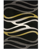 RugStudio presents Safavieh Porcello Prl3726a Black Machine Woven, Better Quality Area Rug