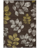 RugStudio presents Safavieh Porcello Prl3729b Brown - Green Machine Woven, Better Quality Area Rug