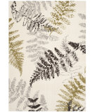 RugStudio presents Safavieh Porcello Prl3738b Ivory / Light Grey Machine Woven, Better Quality Area Rug