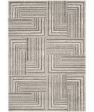 RugStudio presents Safavieh Porcello Prl3740d Light Grey / Dark Grey Machine Woven, Better Quality Area Rug