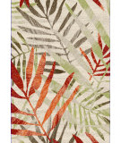 RugStudio presents Safavieh Porcello Prl4818c Ivory / Green Machine Woven, Good Quality Area Rug