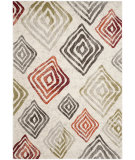 RugStudio presents Safavieh Porcello Prl4820c Ivory / Green Machine Woven, Good Quality Area Rug