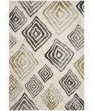 RugStudio presents Safavieh Porcello Prl4820f Ivory / Brown Machine Woven, Good Quality Area Rug