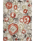 RugStudio presents Safavieh Porcello Prl4822c Ivory / Green Machine Woven, Good Quality Area Rug