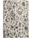 RugStudio presents Safavieh Porcello Prl4822d Dark Grey / Ivory Machine Woven, Good Quality Area Rug