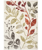 RugStudio presents Safavieh Porcello Prl4824c Ivory / Green Machine Woven, Good Quality Area Rug