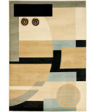 RugStudio presents Safavieh Porcello Prl6843 Black / Multi Machine Woven, Good Quality Area Rug