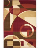 RugStudio presents Safavieh Porcello Prl6845 Red / Multi Machine Woven, Good Quality Area Rug