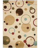 RugStudio presents Safavieh Porcello Prl6851 Ivory / Multi Machine Woven, Good Quality Area Rug