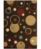 RugStudio presents Safavieh Porcello Prl6851 Brown / Multi Machine Woven, Good Quality Area Rug