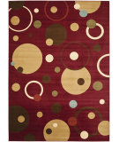 RugStudio presents Safavieh Porcello Prl6851 Red / Multi Machine Woven, Good Quality Area Rug
