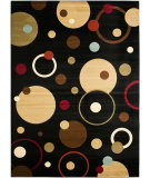 RugStudio presents Safavieh Porcello Prl6851 Black / Multi Machine Woven, Good Quality Area Rug