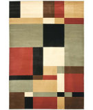 RugStudio presents Safavieh Porcello Prl6862 Black / Multi Machine Woven, Good Quality Area Rug