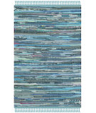 RugStudio presents Safavieh Rag Rug Rar121b Blue / Multi Area Rug