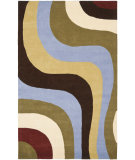 RugStudio presents Safavieh Rodeo Drive Rd151a Blue / Multi Hand-Tufted, Better Quality Area Rug