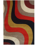 RugStudio presents Safavieh Rodeo Drive Rd151b Red / Multi Hand-Tufted, Better Quality Area Rug