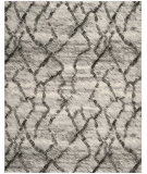 RugStudio presents Safavieh Retro Ret2144-7990 Light Grey / Black Machine Woven, Good Quality Area Rug