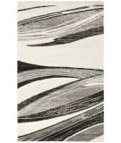 RugStudio presents Safavieh Retro Ret2691 Light Grey / Ivory Machine Woven, Good Quality Area Rug