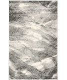 RugStudio presents Safavieh Retro Ret2891 Grey / Ivory Machine Woven, Good Quality Area Rug