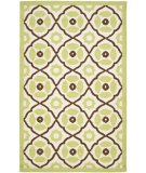 RugStudio presents Safavieh Roslyn Ros313a Ivory / Green Hand-Hooked Area Rug