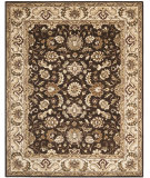 RugStudio presents Safavieh Royalty ROY239A Chocolate / Beige Hand-Tufted, Good Quality Area Rug