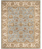 RugStudio presents Safavieh Royalty ROY343B Blue / Beige Hand-Tufted, Good Quality Area Rug