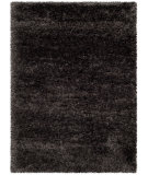 RugStudio presents Safavieh Rhapsody Shag Rsg521-8484 Charcoal Grey Area Rug