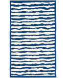 RugStudio presents Safavieh Kids SFK215A Ivory / Blue Hand-Hooked Area Rug