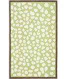 RugStudio presents Safavieh Kids SFK219A Green / Ivory Hand-Hooked Area Rug