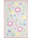 RugStudio presents Safavieh Kids Sfk311a Blue / Multi Hand-Hooked Area Rug